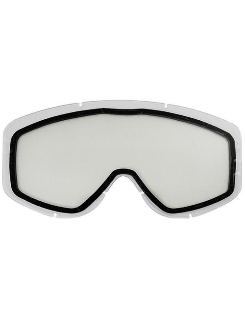 Adult  - Clear - CastleX Force & Force SE  Replacement Dual Lens