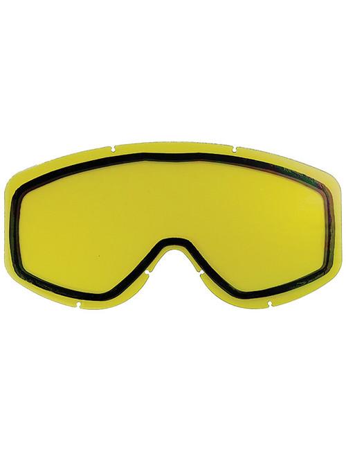 Adult  - Yellow - CastleX Force & Force SE  Replacement Dual Lens