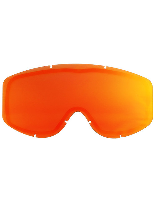 Adult  - Mirror Red - CastleX Force & Force SE  Replacement Dual Lens