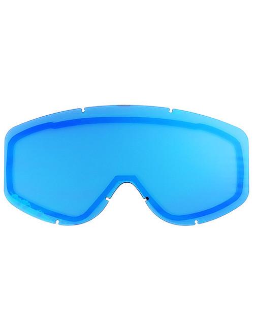 Adult  - Mirror Blue - CastleX Force & Force SE  Replacement Dual Lens