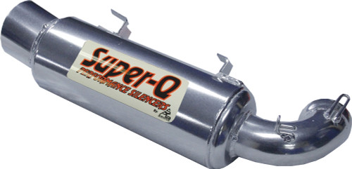 Skinz Polished Ceramic Super-Q Silencer For 2013-2016 Polaris Indy 800 SP