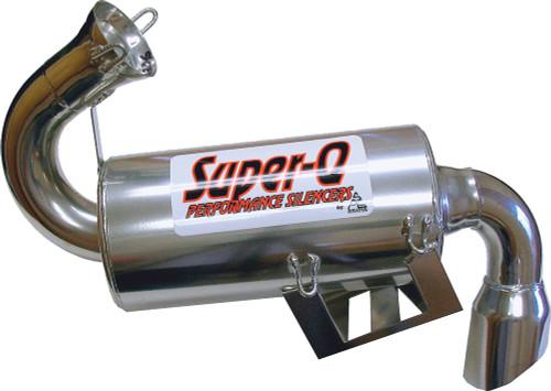 Skinz Polished Ceramic Super-Q Silencer For 2010 Polaris Indy 800 RMK