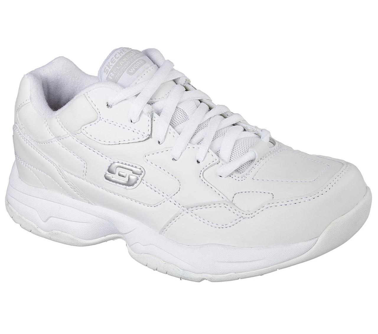Skechers Women's Felton Albie Shoe White 76555