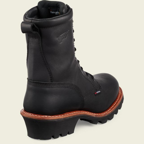 Red Wing Safety Toe Logger Black 4416