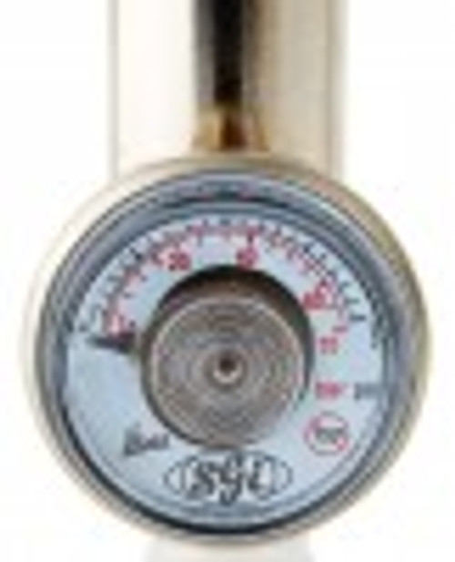 Fixed Flow Regulator with on/off switch for reactive gases