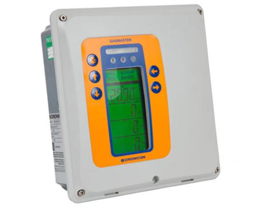 Crowcon Gasmaster Control Panel angled view