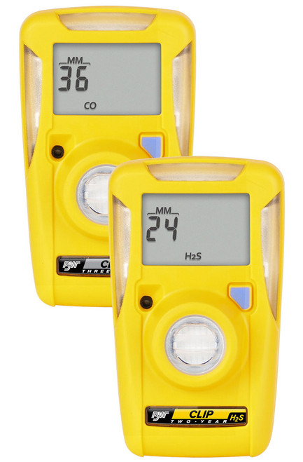 BW Clip | Disposable Single Gas Detector | Gas Monitor Point