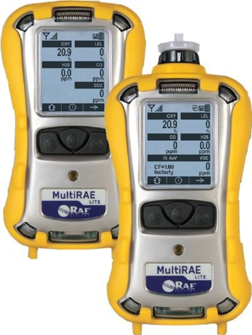 RAE MultiRAE Lite 6 Gas Monitor (Models PGM-6208 and PGM-6208D)
