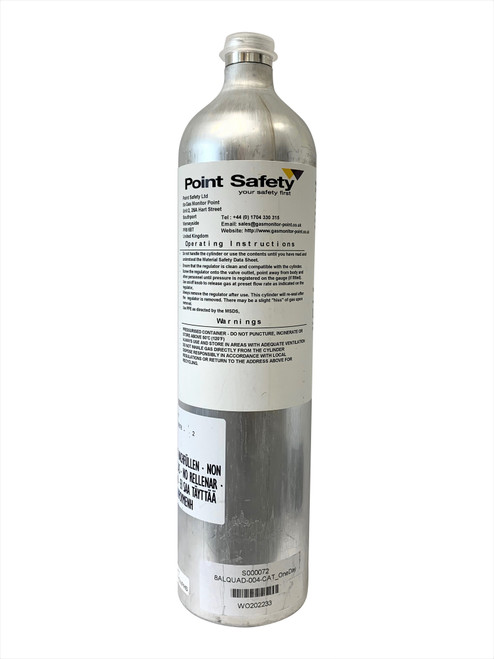 MSA Altair 4X / 4XR Test Gas Bottle