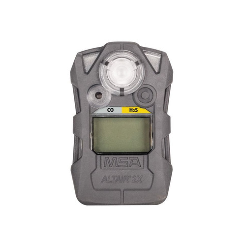 MSA ALTAIR 2XT CO/H2S Gas Detector - CHARCOAL