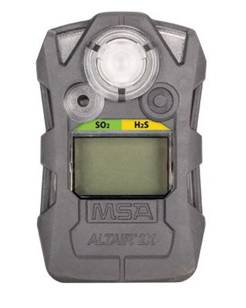 MSA ALTAIR 2X Gas Detector, SO2/H2S-LC, Charcoal