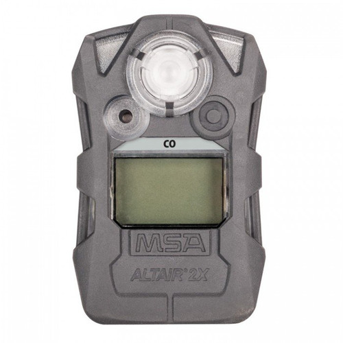 MSA ALTAIR 2X Gas Detector, CO, CHARCOAL
