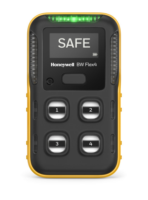 Honeywell BW Flex 4 Gas Monitor front view