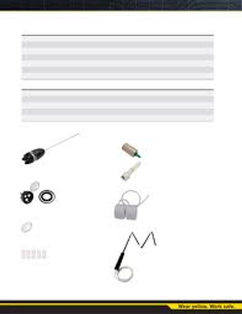 Replace particulate filter for GA-PROB1-1 (Kit of 25)