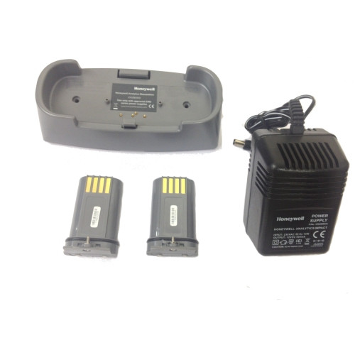 In-situ charging kit including base station, PSU, NiMH batteries