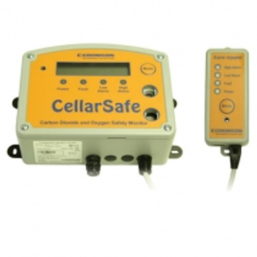 Cellarsafe Fixed Mains Powered CO2 & O2 Gas Detector