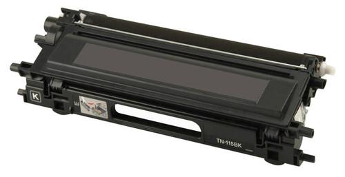 Brother TN-115/TN-110 (TN115BK) High Yield Black Laser Toner Cartridge (Remanufactured)