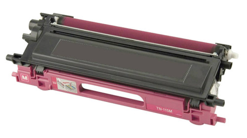 Brother TN-115/TN-110 (TN115M) High Yield Magenta Laser Toner Cartridge (Remanufactured)