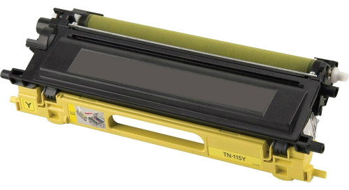 Brother TN-115/TN-110 (TN115Y) High Yield Yellow Laser Toner Cartridge (Remanufactured)