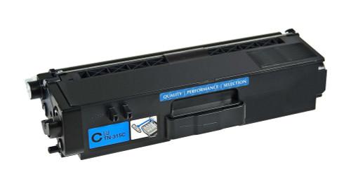 Brother TN-315/TN-310 (TN315C) High Yield Cyan Laser Toner Cartridge (Compatible)