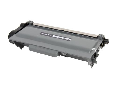 Brother TN-750/TN-720 (TN750/TN720) High Yield Black Laser Toner Cartridge (Compatible)