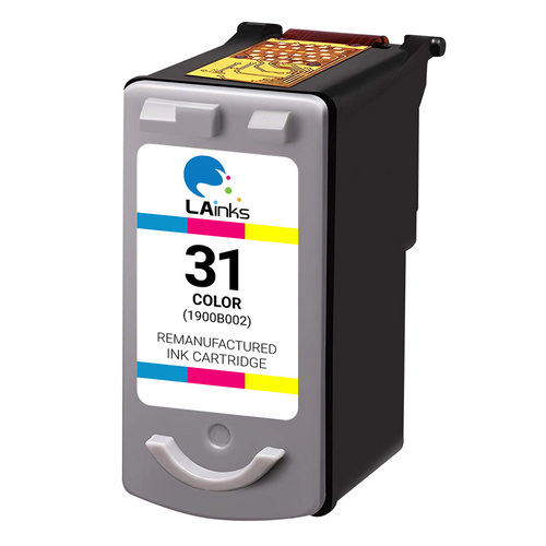 Canon CL-31 (1900B002) Tri-Color Ink Cartridge (Remanufactured)