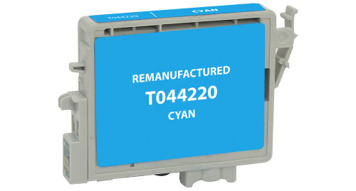 Epson T0442 (T044220) Cyan Ink Cartridge (Remanufactured)