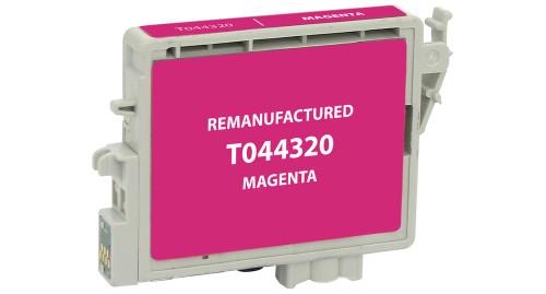 Epson T0443 (T044320) Magenta Ink Cartridge (Remanufactured)