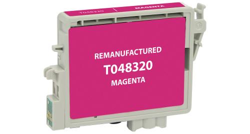 Epson T0483 (T048320) Magenta Ink Cartridge (Remanufactured)