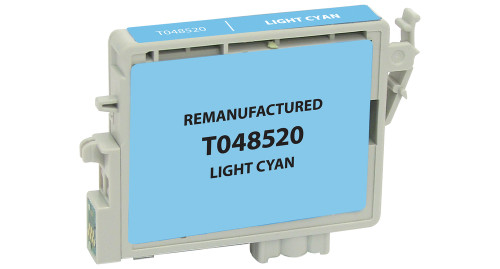 Epson T0485 (T048520) Light Cyan Ink Cartridge (Remanufactured)