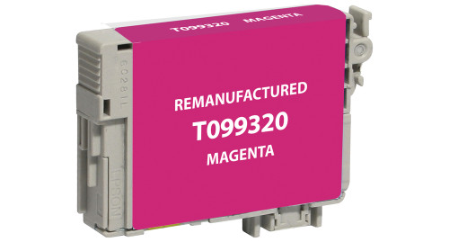 Epson T0993 (T099320) Magenta Ink Cartridge (Remanufactured)