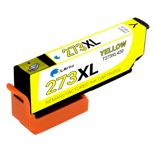Epson T273XL (T273XL420) High Yield Yellow Ink Cartridge (Remanufactured)