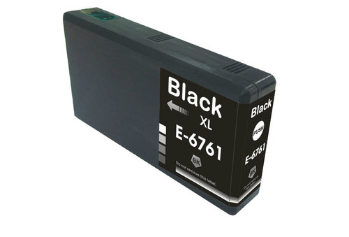 Epson T676XL (T676XL120) High Yield Black Ink Cartridge (Remanufactured)