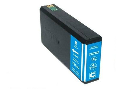 LAinks Replacement for Epson 676XL T676XL220 High Yield Cyan Ink Cartridge EPSON_T676XL-C