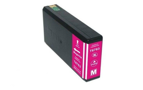 LAinks Replacement for Epson 676XL T676XL320 High Yield Magenta Ink Cartridge EPSON_T676XL-M
