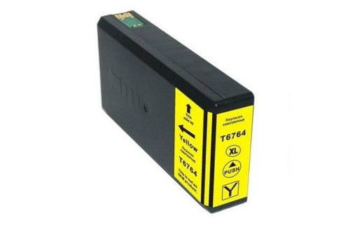 LAinks Replacement for Epson 676XL T676XL420 High Yield Yellow Ink Cartridge EPSON_T676XL-Y