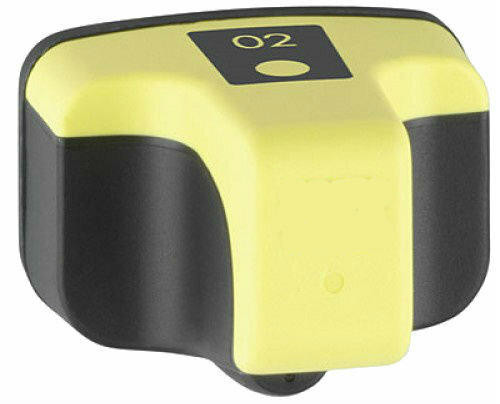 LAinks Replacement for HP 02 C8773WN High Yield Yellow Ink Cartridge HP_02-Y