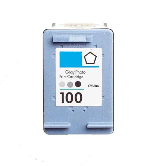 LAinks Replacement for HP 100 C9368AN Photo Gray Ink Cartridge HP_100