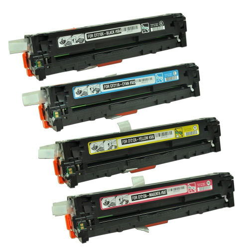 LAinks Replacement for HP 131X/131A Toner Cartridges 4PK 1ea BCMY Combo HP_131X131A-4PK