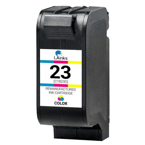 LAinks Replacement for HP 23 C1823D Color Ink Cartridge HP_23