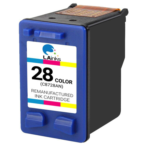 LAinks Replacement for HP 28 C8728AN Color Ink Cartridge HP_28