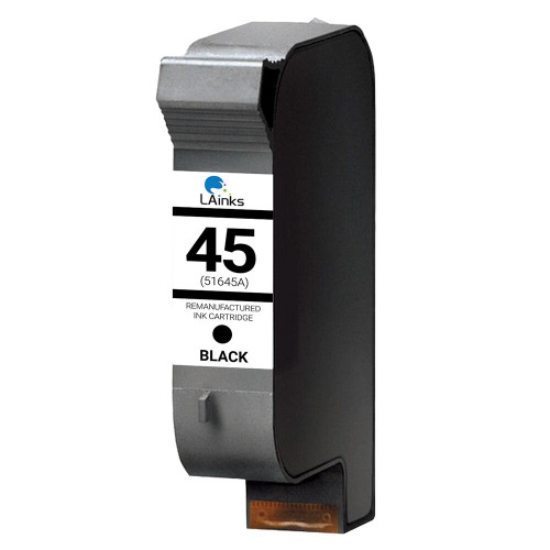 LAinks Replacement for HP 45 51645A Black Ink Cartridge HP_45