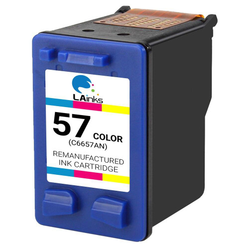 LAinks Replacement for HP 57 C6657AN Color Ink Cartridge HP_57
