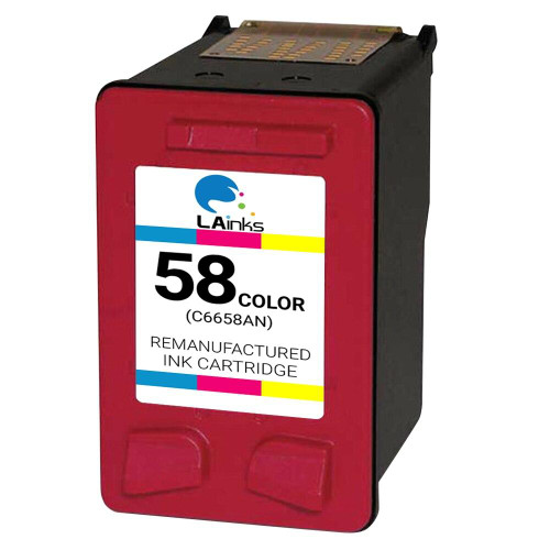LAinks Replacement for HP 58 C6658AN Photo Ink Cartridge HP_58