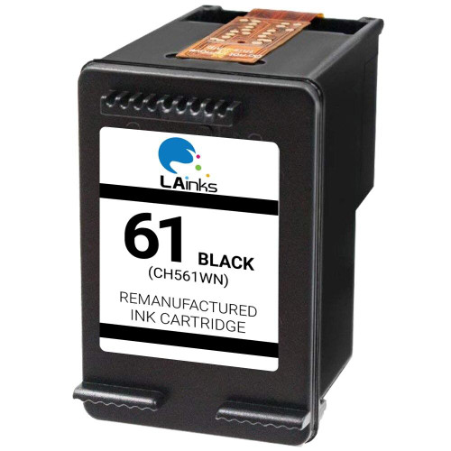 LAinks Replacement for HP 61 CH561WN Black Ink Cartridge HP_61-B NG