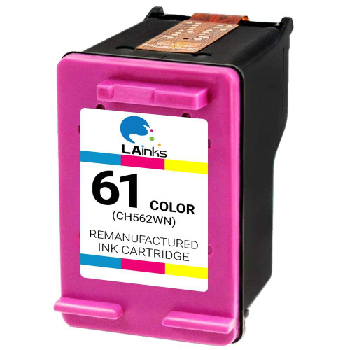 LAinks Replacement for HP 61 CH562WN Color Ink Cartridge HP_61-C NG