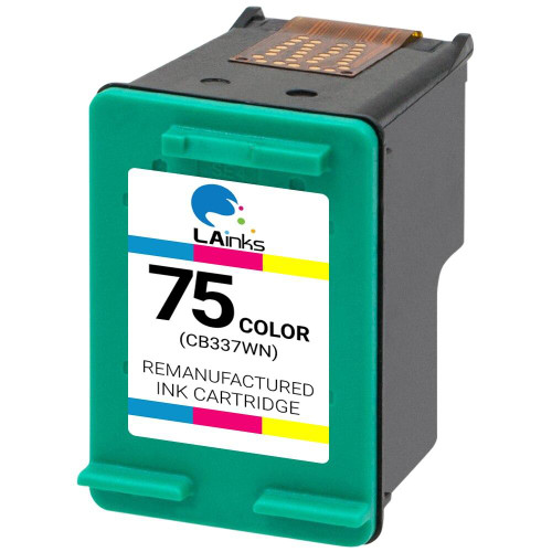 LAinks Replacement for HP 75 CB337W Color Ink Cartridge HP_75