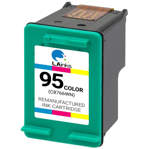 LAinks Replacement for HP 95 C8766WN Color Ink Cartridge HP_95