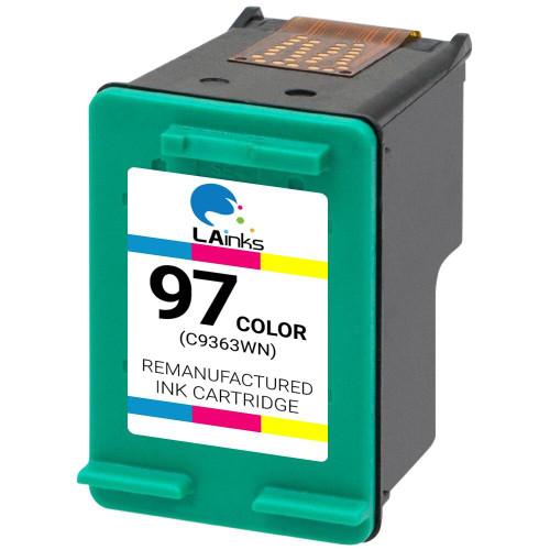 LAinks Replacement for HP 97 C9363WN Color Ink Cartridge HP_97