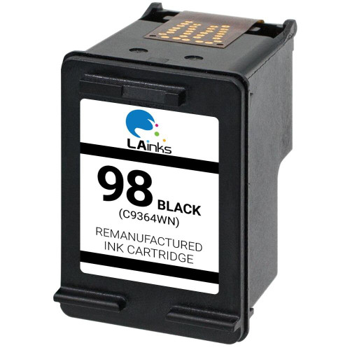 LAinks Replacement for HP 98 C9364WN Black Ink Cartridge HP_98